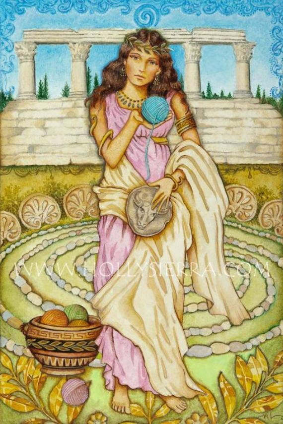 Ariadne Greek Myth Ariadne Princess of Greek