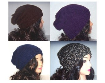 Made To Order, Custom Hat, Custom Color Beanie, Handmade Knit Hat, Slouchy Hat, Womans Hat, Mans Hat