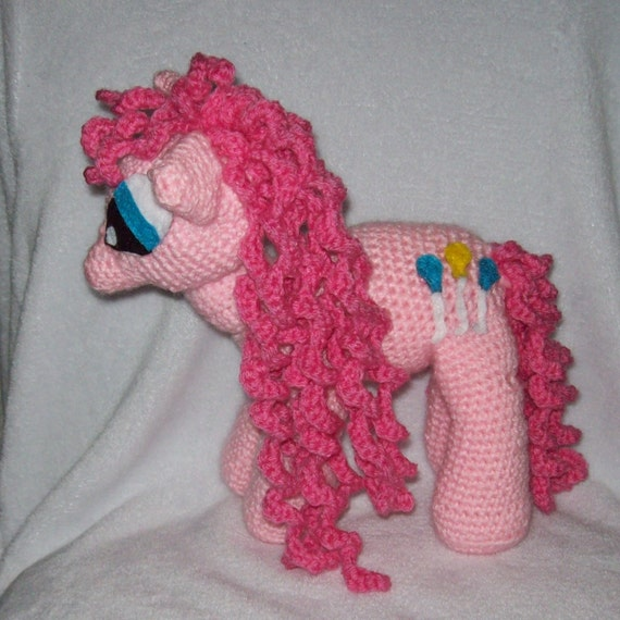 Pinkie Pie Pony  Inspired By My Little Pony