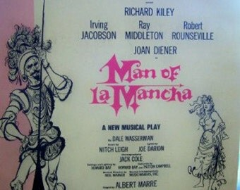 Man from La mancha song book 1950s