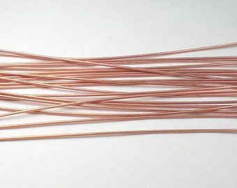 Pure Copper 3 in. Head Pins  22ga Copper Pendant Head Pin 76mm  20 pcs GC-H-276