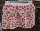 On Sale Toddler Skirt Red Strawberries Size 2T