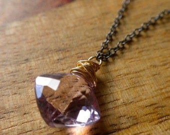 Ready To Ship - Pink Amethyst Limited Edition Necklace