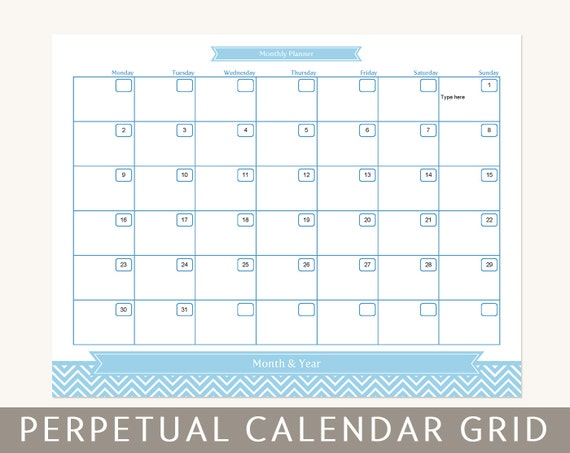 items similar to calendar planner grid  month at a glance