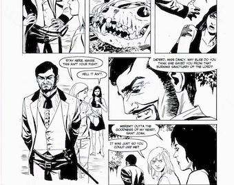 Original art by Steve Lieber for Alabaster: Wolves #5, Page 8