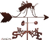 Hand Made Mosquito Insect Weathervane NEW