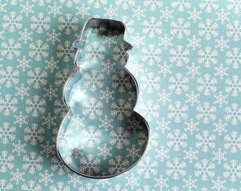 Snowman Cookie Cutter/ Christmas Cookie Cutter