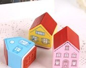 1 Little house stamp - ideal for shop owners - thank you - merci - merci beaucoup