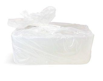 25 Lb Clear Melt &Pour Glycerine Soap Base, Ultra Clear