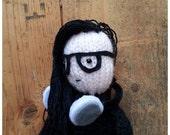 Skrillex doll knitting pattern