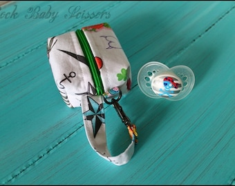Design Your Own Custom Made small zipper pouch | pacifier pouch | coin purse | change purse