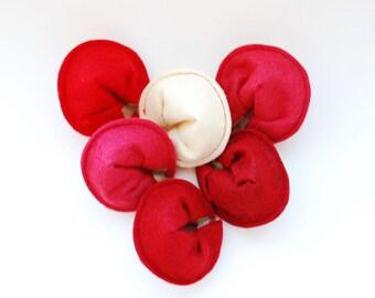 PDF Valentine Pattern, Felt Fortune Cookie Sewing PDF, Felt Food Pattern