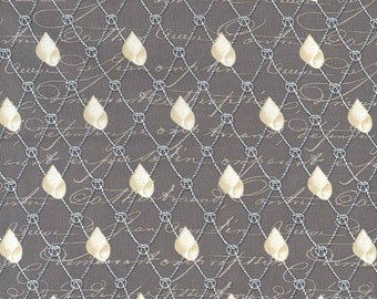 SALE! -- Michael Miller By the Sea Nautical Netting Fabric 1 Yard