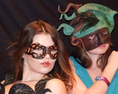 Hand made Leather Masks, ...