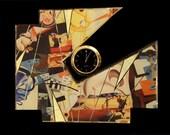 Modern Abstract Clock- Ka...