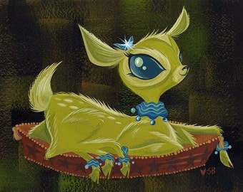 Fifi, The Six-Legged Fawn-Giclée Print