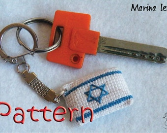Pattern - Flag of Israel Amigurumi tutorial