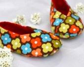 Baby Sewing Pattern, Baby Kimono Shoe Pattern, Easy sewing pattern, quick sewing pattern, patterns for beginners