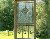 Stained Glass Flower Panel - Victorian Inspired Suncatcher