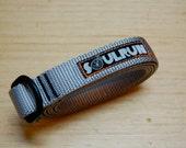 Soulrun Nylon Webbing Belt- Gray