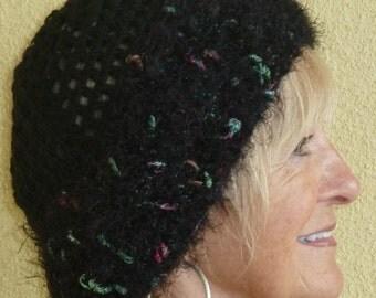 Bohemian Accessories Black Hat