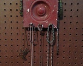Upcycled Jewelry Organizing Display (Bullseye Architectural Salvage)
