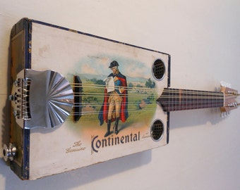 Electric Cigar Box Mandolin - Made in Maine
