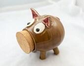 Tan Piggy Bank