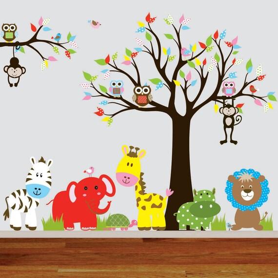 Deco cris vinilos infantiles murales coloridos de 2 x 2 for Murales y vinilos infantiles