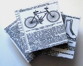 Coasters. Coasters for sports lover. Ceramic coasters. Tennis. Ice skating. Bicycle. Coasters for athletes.