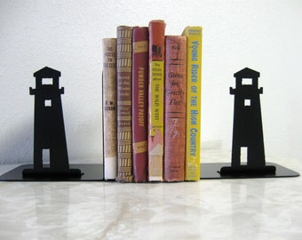 Light House Metal Art Bookends