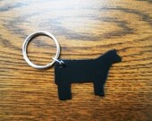 Show Calf Key Ring