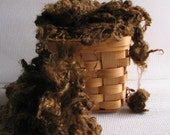 Kid Mohair - Hand Dyed - Black Walnut