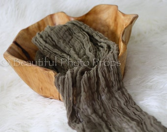 Toffee Brown Cheesecloth Baby Wrap Cheese Cloth Newborn Photography