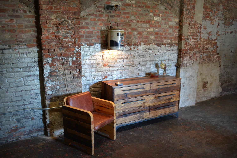 Like this item? - Reclaimed Wood Dual Column Dresser