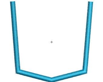 Applique Pocket Designs  - 10 Sizes - INSTANT DOWNLOAD