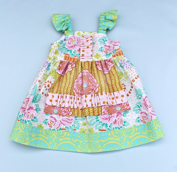 "Easter Dress - ""Millie"" Apron dress READY TO SHIP"