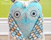 Owl Stuffed Toy - Stuffed Owl Friend - Stuffed Owl Pillow Toy - Bwinks