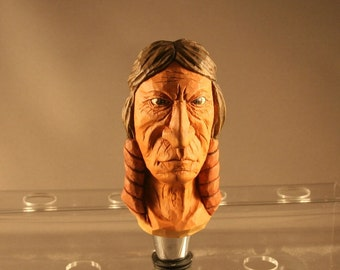 Native American Bottle Stopper