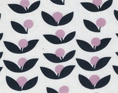 Pink Grey Bedding SALE - Baby Girls Crib Sheets or Changing Pad Cover / Fitted Crib Sheet - Standard or Mini / Lotta Jansdotter