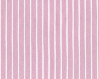 Pink Crib Sheet - Mini Crib Sheets / Pink Pinstripe Baby Bedding / Fitted Crib Sheets / Babiease Baby Boutique