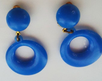 The Authentic Spanish Clip On Flamenco Earrings. 60s. For little girls