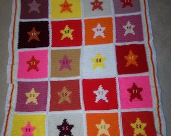 Invincible! Mario Starmen Blanket