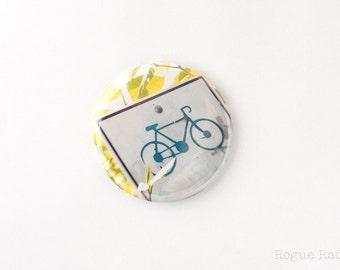 """Bike Sign Magnet-2.25"""" original image"""