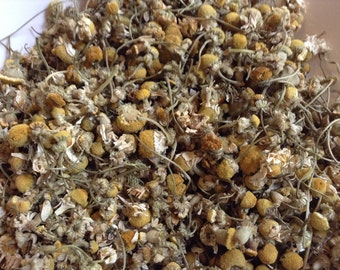 ORGANIC Chamomile Flowers, Loose Tea/Botanical Supply, By The Cup