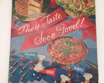 Mr food cookbook etsy vintage planters peanuts cookbook 1955 recipe book hints ideas frying and more forumfinder Gallery