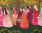The Twelve Dancing Princesses (special edition print)