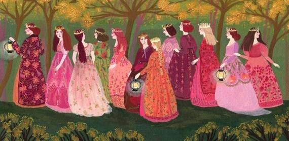 Die Zwölf Tanzenden Prinzessinnen
