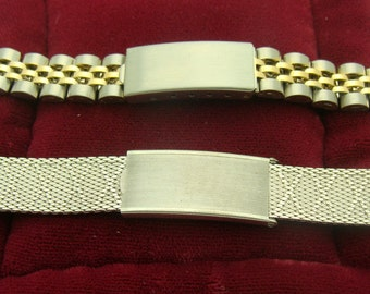 Lot Of Two New Old Stock Vintage Watch Bands