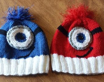 "Child's ""Little Monster"" Knit Hat"